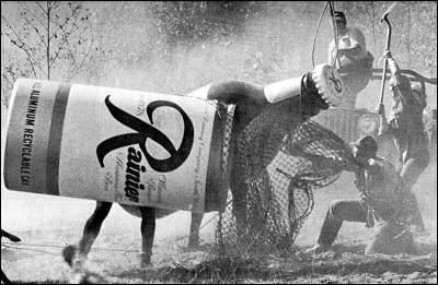 rainier beer ad